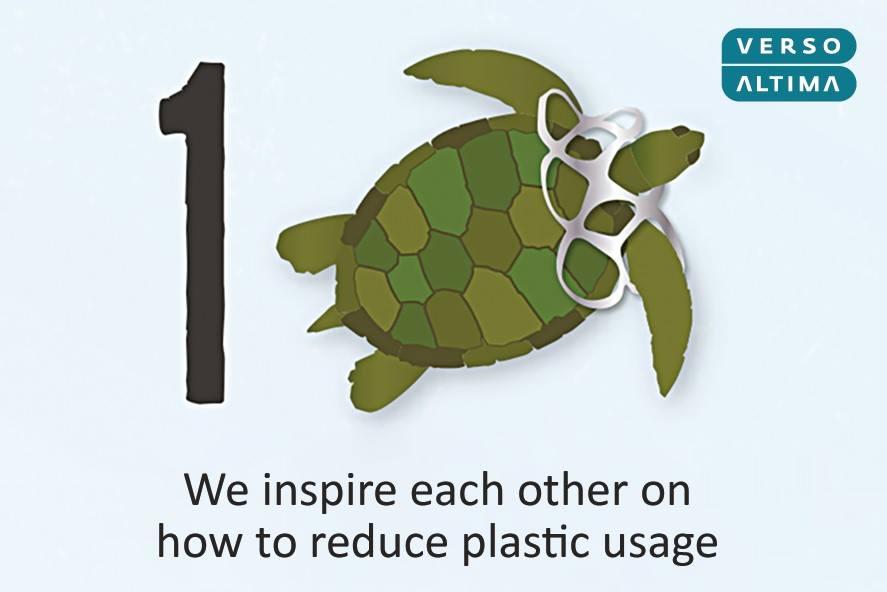 Projekt Less plastic